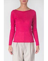 Tabaroni Cashmere Long Sleeved T-shirt - Multicolour