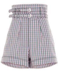 Philosophy Colour Cotton Shorts - Blue