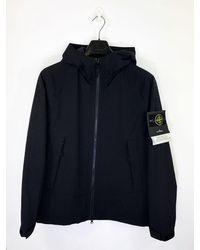 Stone Island R Soft Shell Primaloftâ® Insulation Jacket - Black