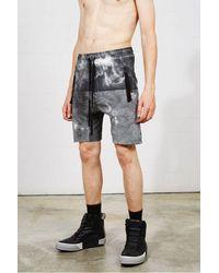 Thom Krom M St 242 B Shorts Marble Colour: Marble, - Black