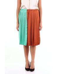 Plan C Skirts Miniskirts Women Multicolour - Black