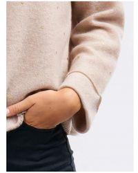 Repeat Cashmere Gold Dot Sweater - Multicolor