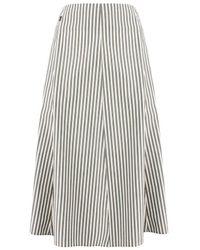 Woolrich Striped Skirt - Grey