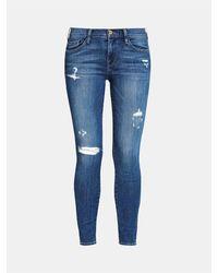 FRAME Frame Women's Lsj179 Le Skinny De Jeanne Blue Jeans
