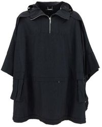 Les Hommes Other Materials Outerwear Jacket - Black