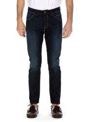 Siviglia Trousers Indigo - Blue