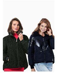 Guess Orietta Reversible Jacket Colour: Black