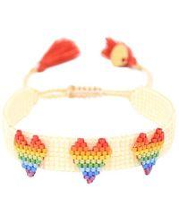 Mishky Rainbow Love X3 Bracelet - Multicolour