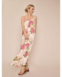 Mos Mosh Palm Rose Dress - Pink
