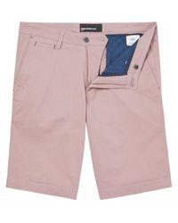 Remus Uomo Uomo Chino Shorts - Pink
