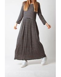 Just Female Case Maxi Dress - Grey