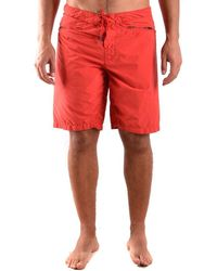 Stone Island Swimsuit - Red