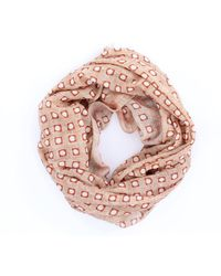 ROSI COLLECTION Fantasy Sand Scarf - Pink