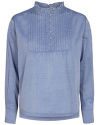 co'couture Cocouture Sissa Sky Shirt - Blue