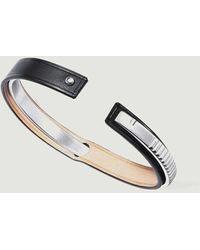 Ursul Leather Bracelet Uraeus Matt - Metallic
