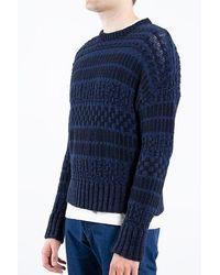 AMI Sweater / E19k020.009 / Navy - Blue