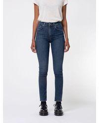 Nudie Jeans Jeans • Hightop Tilde • Blue Tide