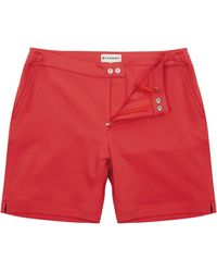 BLUEMINT Brodi Cotton Jersey Lounge Shorts Meteore - Pink