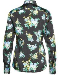 Jucca Blouse With Floral Print - Black