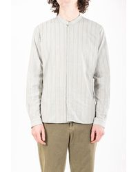 Delikatessen Shirt / Zen Shirt / Green Stripe - Multicolour