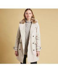 Barbour Women's Brodie Waterproof Jacket - Grey