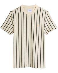 Farah Beatty Stripe T-shirt - Cream - Multicolour