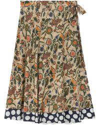 Leon & Harper Jailbu Skirt - Multicolour