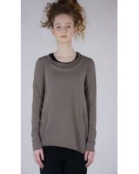 Rundholz Pre-order Aw21 3300523 Top Mocca - Multicolour