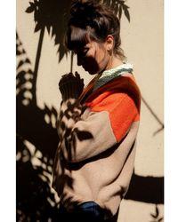 Baum und Pferdgarten Cirkeline Camel & Orange Sweater