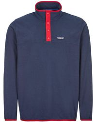 Patagonia Micro Dtm Snap-t® Fleece Pullover - Blue