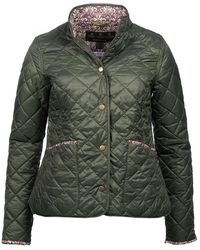 Barbour Ladies Evelyn Quilt Jacket - Green