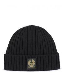 Belstaff Watch Hat - Black