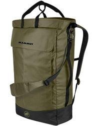 Atterley Mammut Neon Shuttle 22l Backpack Olive / Black - Green