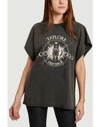 IRO Explor T-shirt Used Black Paris