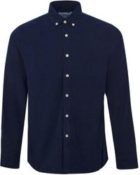 Wax London - Wax Bampton Shirt Navy - Lyst