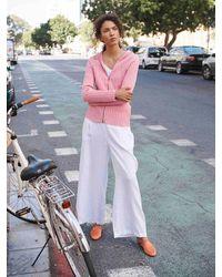 Nrby Zoe Linen Wide Leg Trouser - White