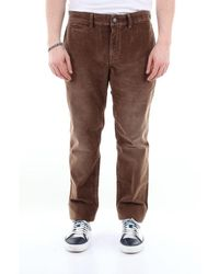 7 For All Mankind Extra Slim Solid Color Chino Pants - Brown