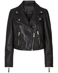 Lolly's Laundry Madison Leather Jacket - Black