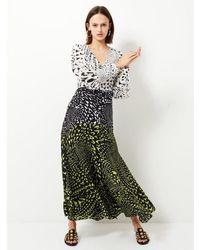 Hayley Menzies - Midaxi Wings Printed Panel Dress - Lyst