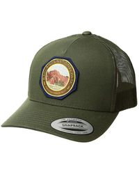 Pendleton National Park Patch Trucker Cap Army - Green