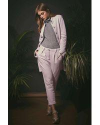 Haris Cotton Cotton Pants Lilac - Purple