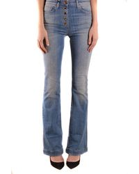 Elisabetta Franchi Jeans In - Blue
