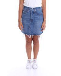 Levi's Levi's Skirts Denim - Blue