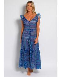 Anjuna Aperto Dress - Blue