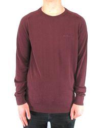 Ben Sherman Port Crew-neck Sweater - Purple