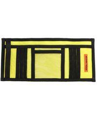 Heron Preston Hmnc005f198160041588 Synthetic Fibers Wallet - Yellow