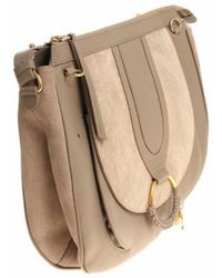 See By Chloé - See By Chloé Hana Large Crossbody Bag In Grey - Lyst