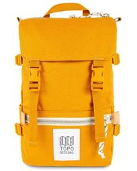 Topo Rover Pack Mini 10l Backpack Yellow Canvas