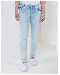Replay Yasmeen Mid Rise Skinny Jean Colour: Stonewashed - Blue