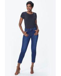 NYDJ Alina Cooper Premium Denim Skinny Jeans - Blue